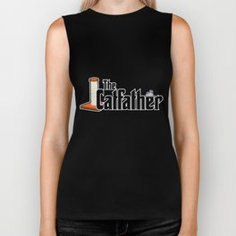 The Catfather - Cat Father Pussycat Meow Biker Tank