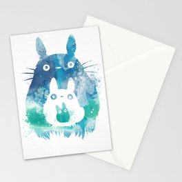 Studio Ghibli's iconic mascot in Watercolor Stationery Cards