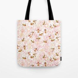 Flower Garden Dance Tote Bag