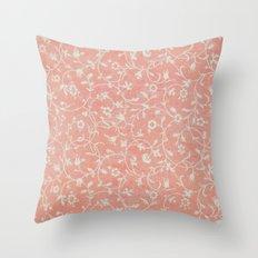 Coral Throw Pillow