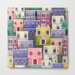 Puerto Rico architecture pattern in spring Metal Print