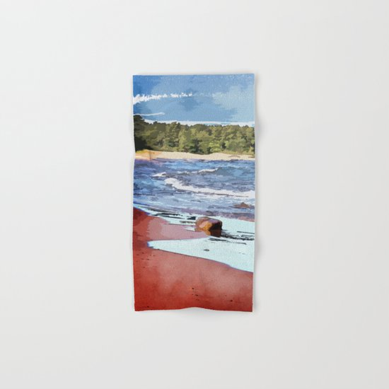 Lake Superior Bay Hand & Bath Towel