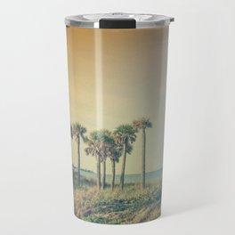 Seven Palm Trees Summer Vibes Travel Mug