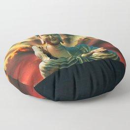 Buddha Sunrise Floor Pillow