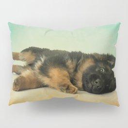 German Shepherd Puppy Pillow Sham