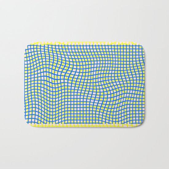 Nets on File Bath Mat