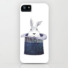 Mr. Rabbit and the Mad Hatter hat Slim Case iPhone (5, 5s)
