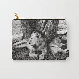 African Safari Lion Carry-All Pouch