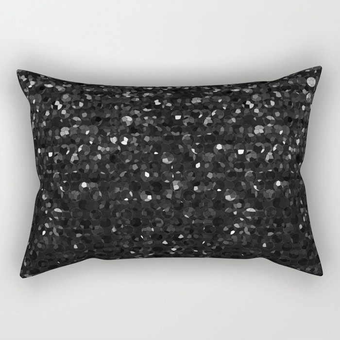 Crystal Bling Strass G283 Rectangular Pillow