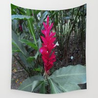 ginger Wall Tapestries featuring Ginger by Alex Braman