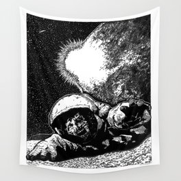 Astro Zombie Wall Tapestry