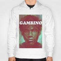 childish gambino Hoodies featuring Gambino by NArtist_P3rhaps