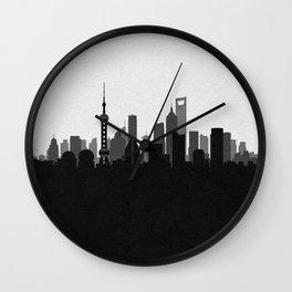 City Skylines: Shanghai Wall Clock