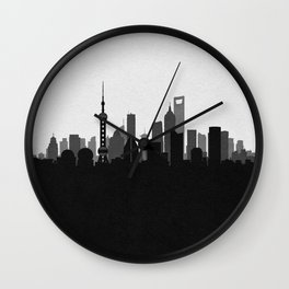 City Skylines: Shanghai Wall Clock