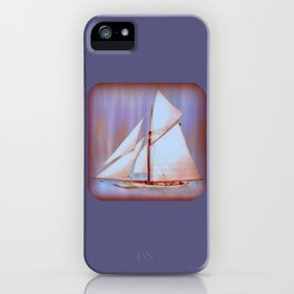 Ghost Sails iPhone Case