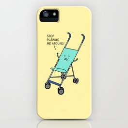 Angry stroller iPhone Case