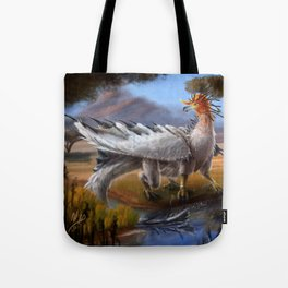 Bird Dragon Tote Bag