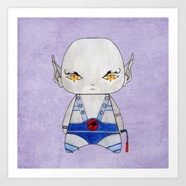 A Boy - Panthro (Thundercats) Art Print
