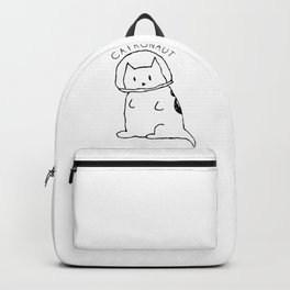 Cat Astronaut Catronaut Ketty Meow Backpack