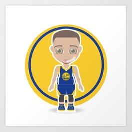 Steph Curry Art Print