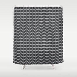 Geometric Pattern In Perspective Shower Curtain