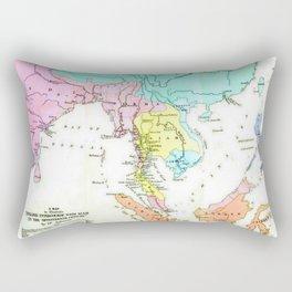 Intercurse Map Rectangular Pillow