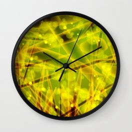Microbes Wall Clock