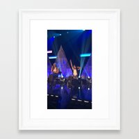 fifth harmony Framed Art Prints featuring Camila Cabello of Fifth Harmony by Brittny May