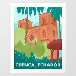 Travel to Ecuador Art Print