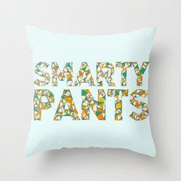 Smarty Pants Throw Pillow