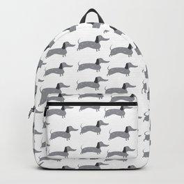 Dapple Dachshund Love: Jet Backpack