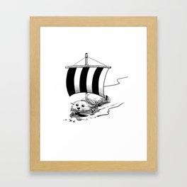 Corgo Ship Framed Art Print