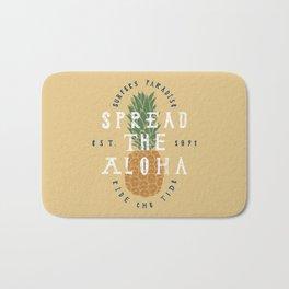 Spread The Aloha Bath Mat