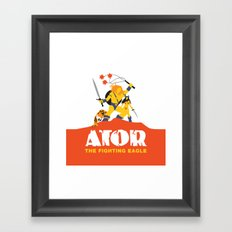 Ator: The Fighting Eagle Framed Art Print