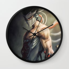 Evil Ninja Wall Clock