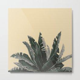 Natural Watercolor Metal Print