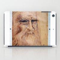 da vinci iPad Cases featuring Leonardo Da Vinci by Michael Cu Fua