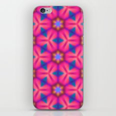 Kaleidoscope Floral iPhone & iPod Skin