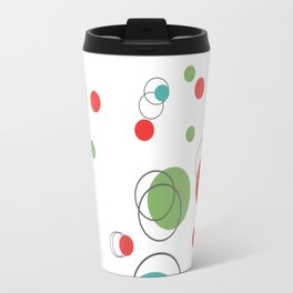 Mid Century MCM Dots Travel Mug