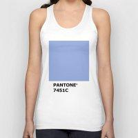 pantone Tank Tops featuring PANTONE 7451C by cvrcak
