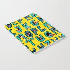 Loud Mouth Alphabet Notebook