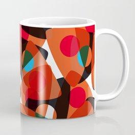 orange 70s Coffee Mug