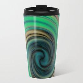 Green Maelstrom Travel Mug