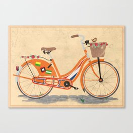 Love Holland, Love Bike Canvas Print