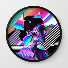 Being Here Wall Clock