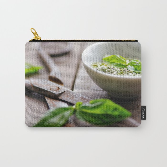 Herbs Kitchen still life from Basil Carry-All Pouch