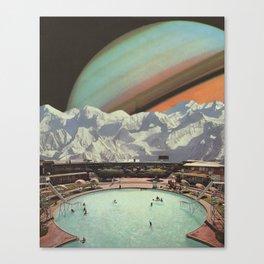 Saturn Spa Canvas Print