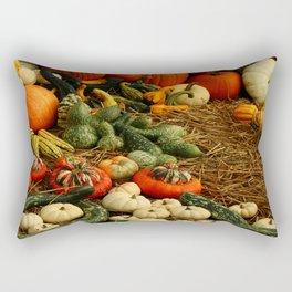 Autumn Time Harvest Time Rectangular Pillow