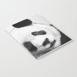 peekaboo panda Notebook
