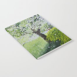 White Spring Notebook